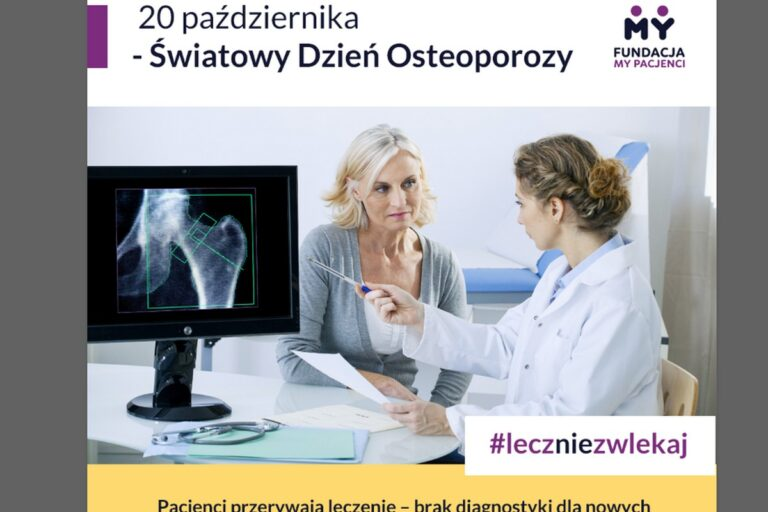 Pandemia w dramatyczny sposób wpłynęła na leczenie osteoporozy w Polsce