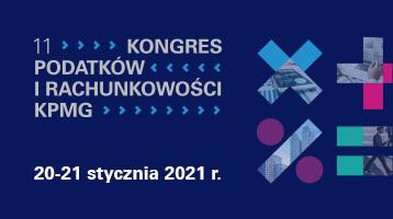 11. Kongres Podatków i Rachunkowości KPMG_