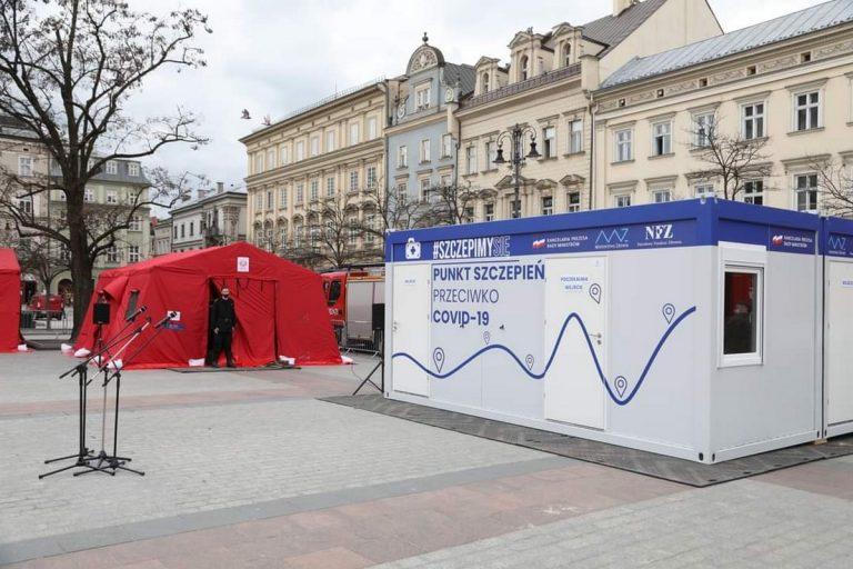 Małopolska: rusza 16 powszechnych punktów szczepień